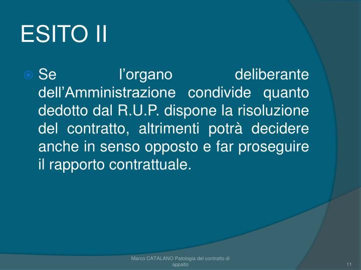 ESITO II
