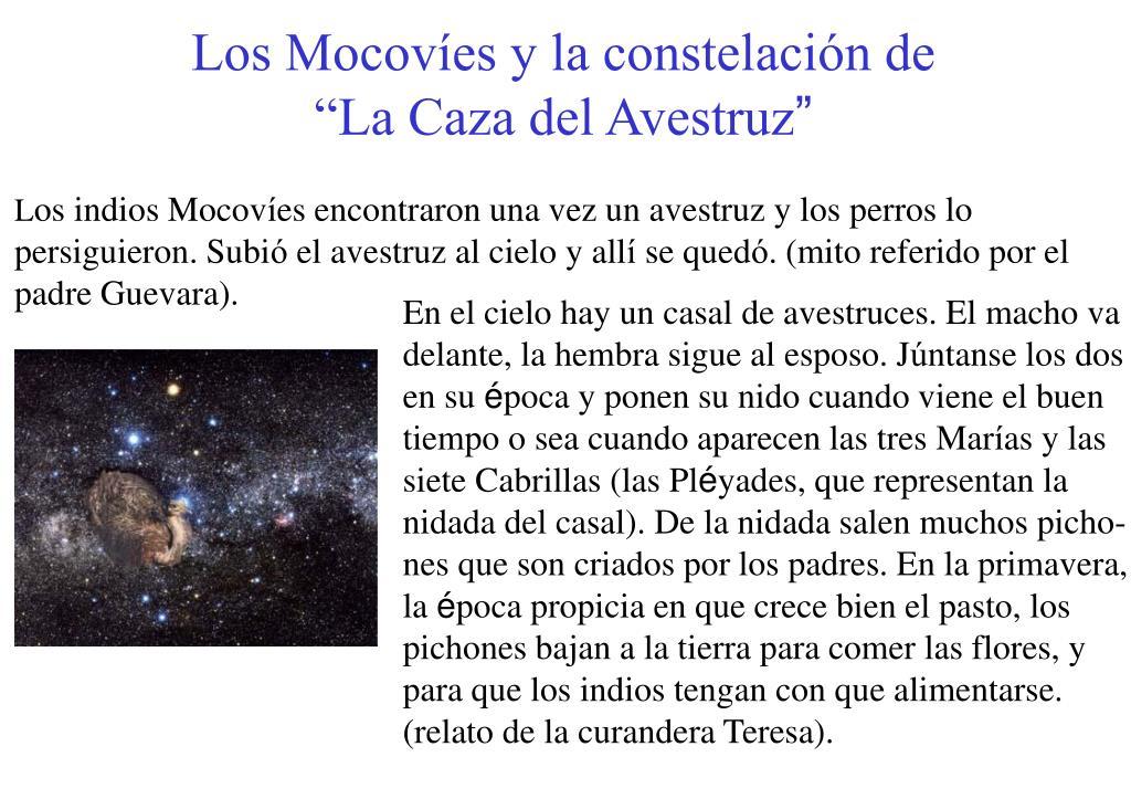 Los Mocovíes y la constelación de