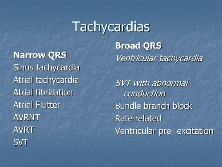 Narrow QRS
