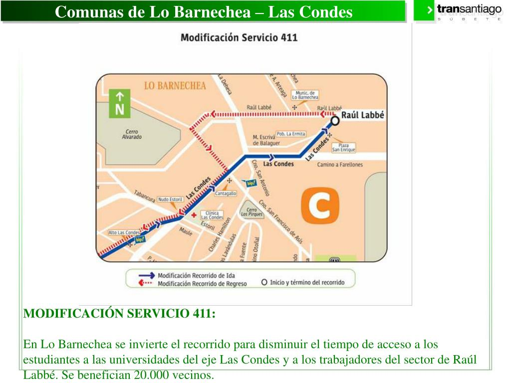 Comunas de Lo Barnechea – Las Condes