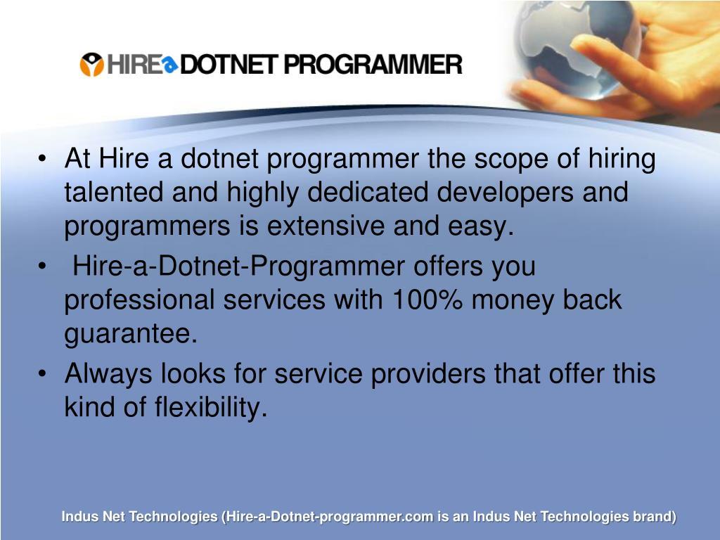 Hire-a-Dotnet-Programmer