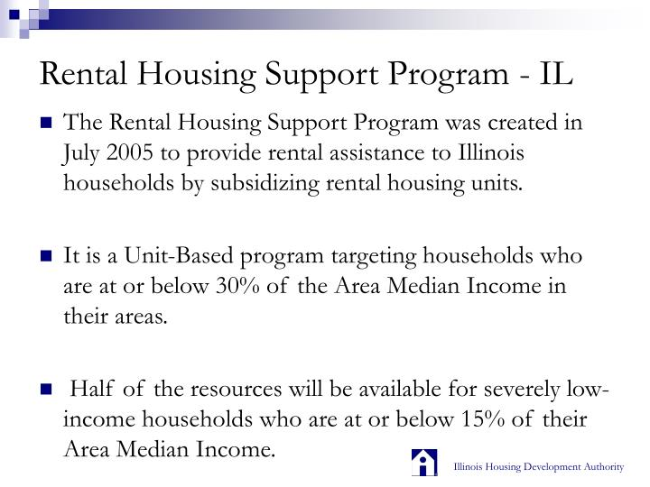 Rental housing support program il1