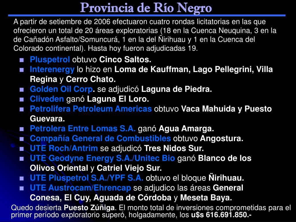 Provincia de Río Negro