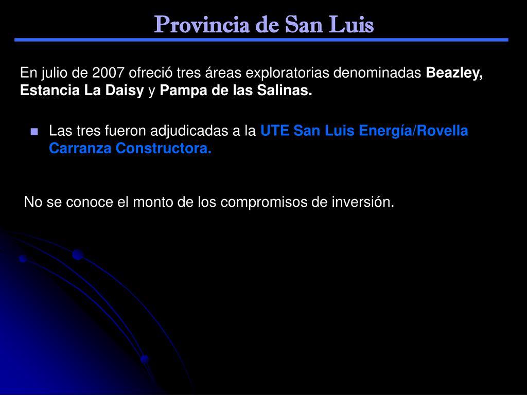 Provincia de San Luis