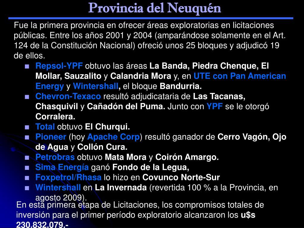 Provincia del Neuquén