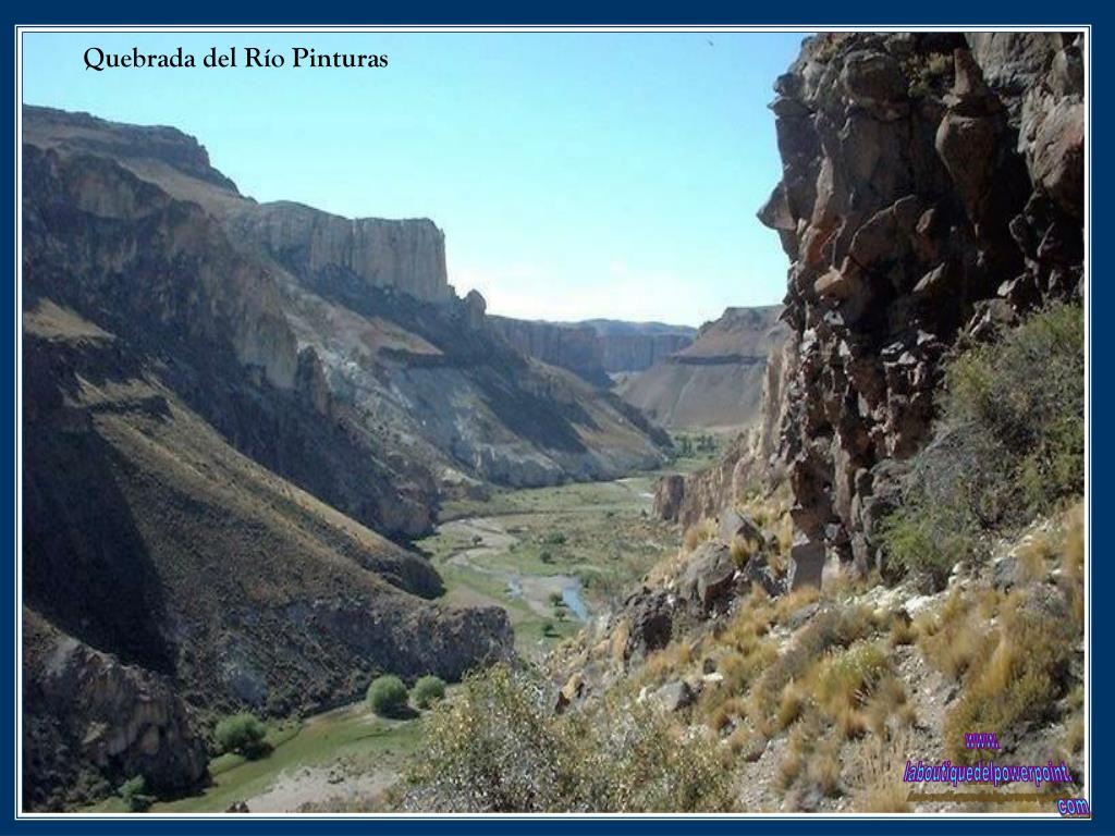 Quebrada del Río Pinturas
