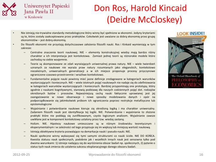 Don Ros, Harold Kincaid
