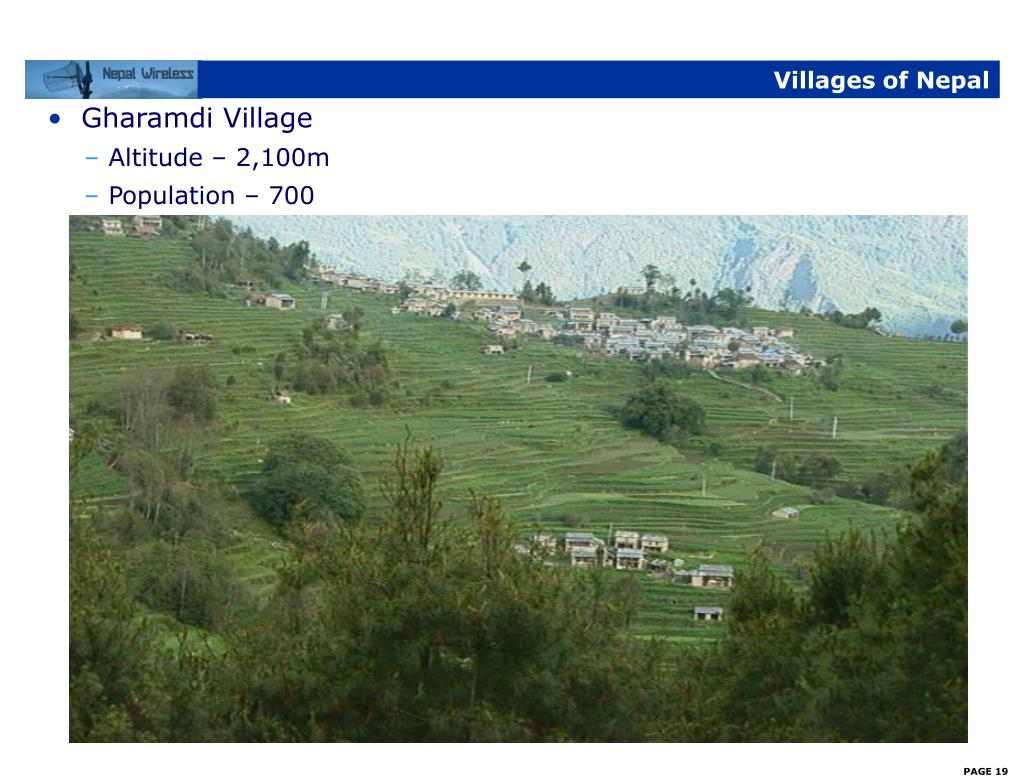Villages of Nepal
