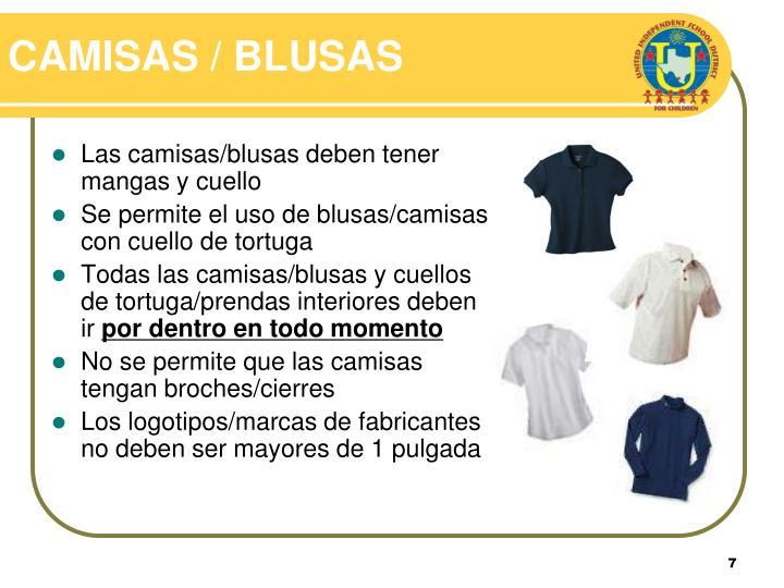 CAMISAS / BLUSAS