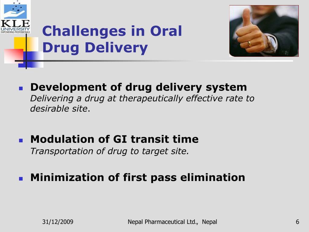 Challenges in Oral Drug Delivery