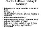 chapter 9 offence relating to computer16