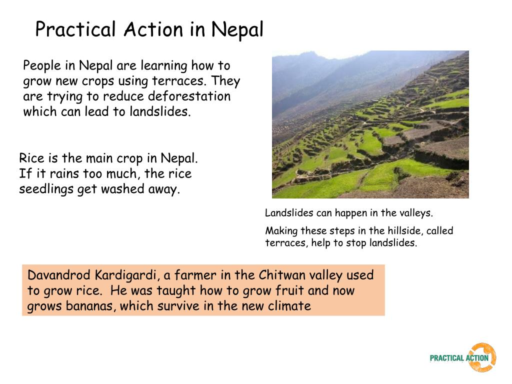 Practical Action in Nepal
