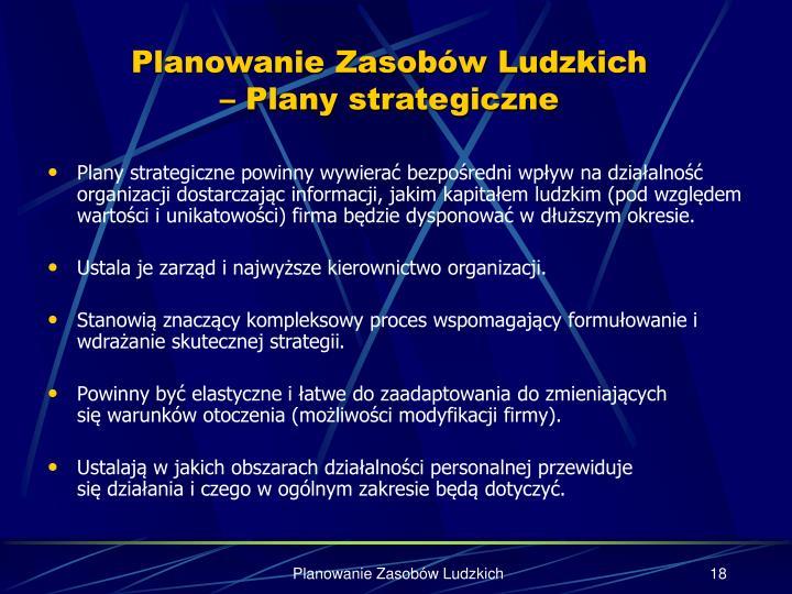 Planowanie Zasobów Ludzkich