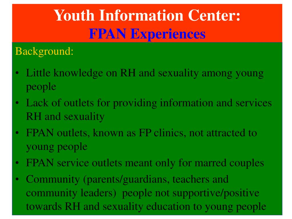 Youth Information Center:
