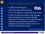 federal agencies cont2