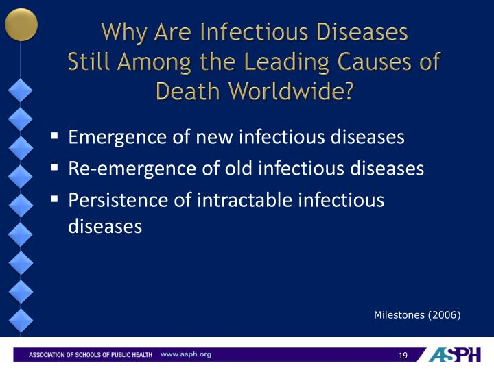 Why Are Infectious Diseases