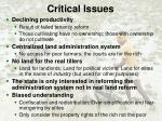 critical issues6