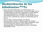biodistribuci n de los bifosfonatos 99m tc