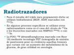 radiotrazadores