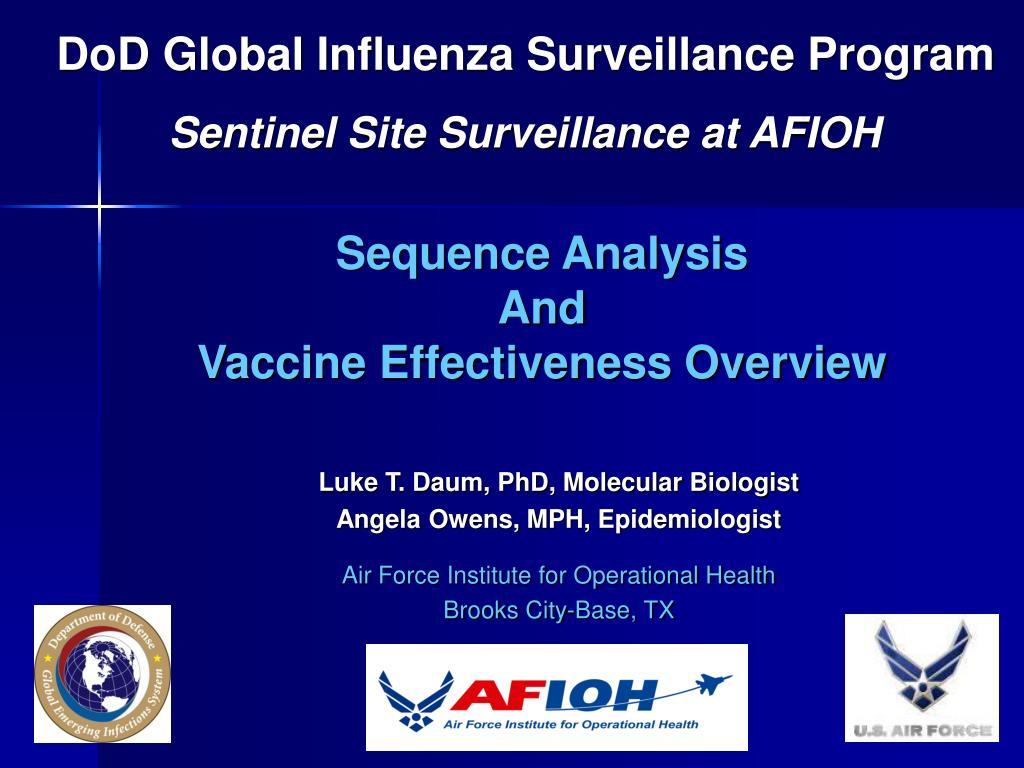 DoD Global Influenza Surveillance Program