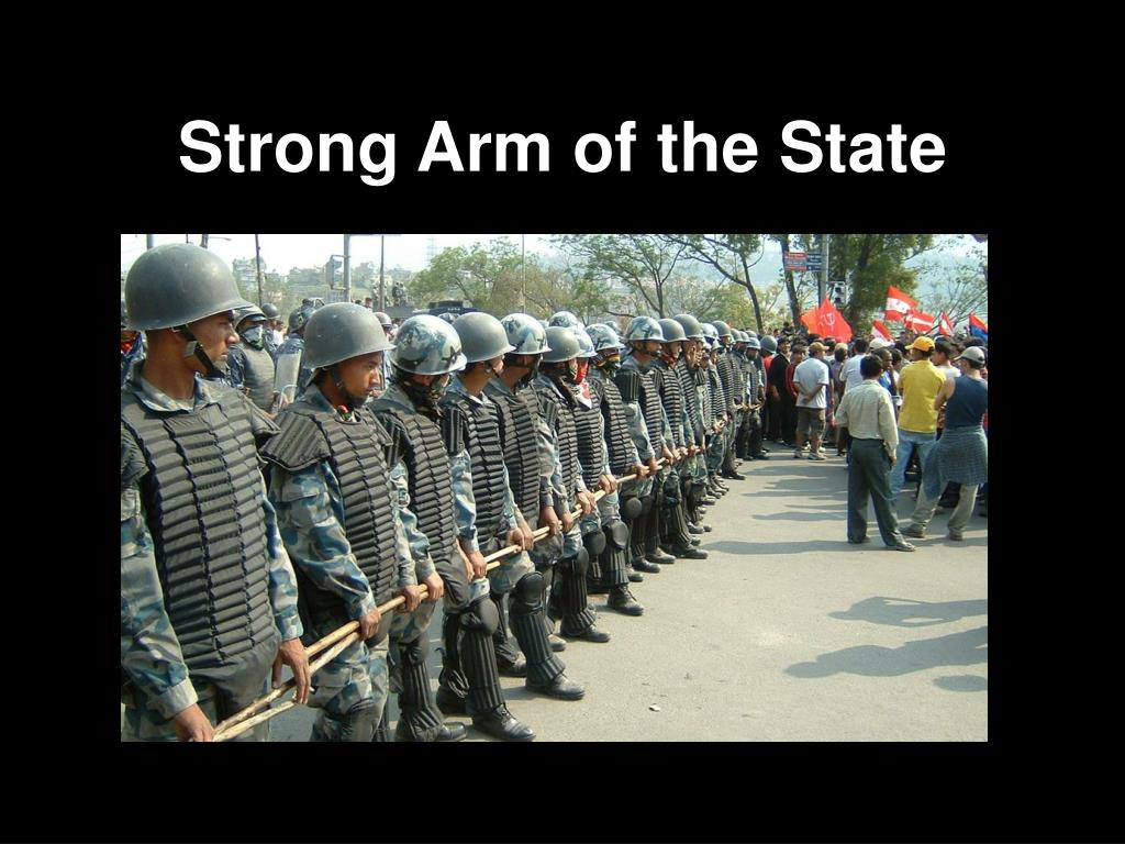 Strong Arm of the State