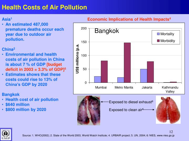Health Costs of Air Pollution