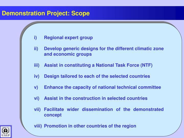 Regional expert group
