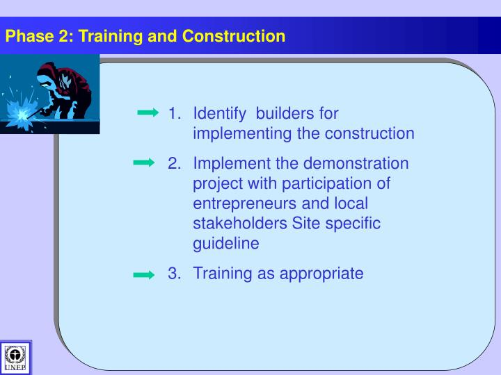 Phase 2: Training and Construction