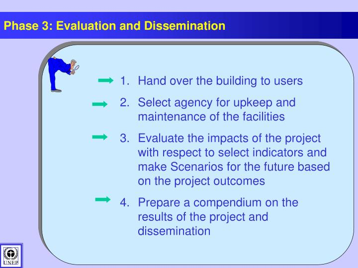 Phase 3: Evaluation and Dissemination