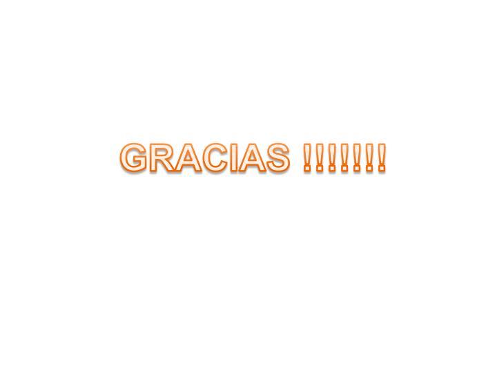 GRACIAS !!!!!!!