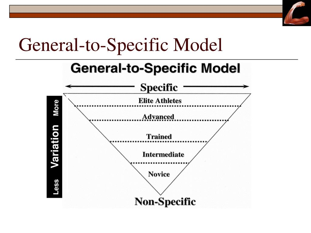 General-to-Specific Model