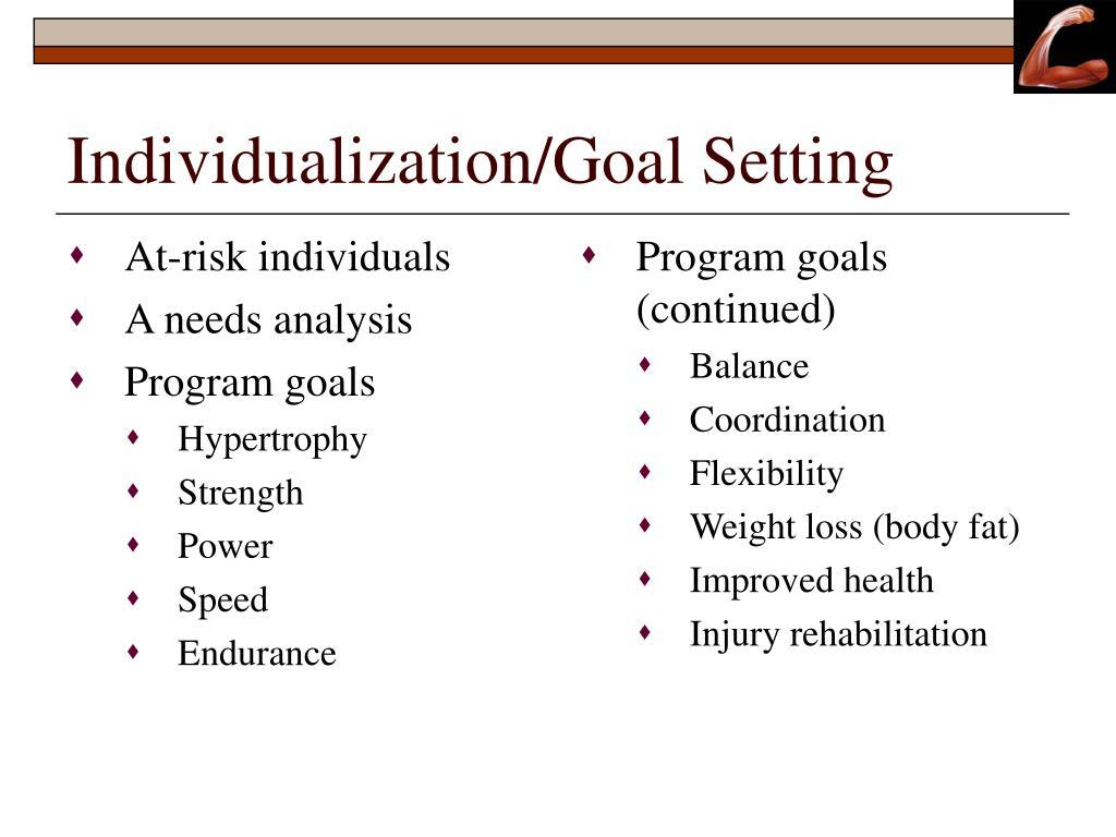 At-risk individuals