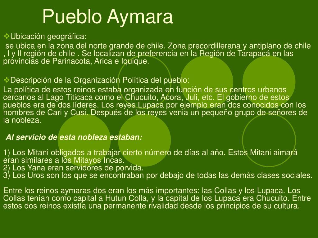 Pueblo Aymara