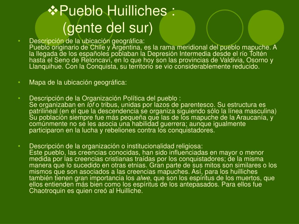 Pueblo Huilliches