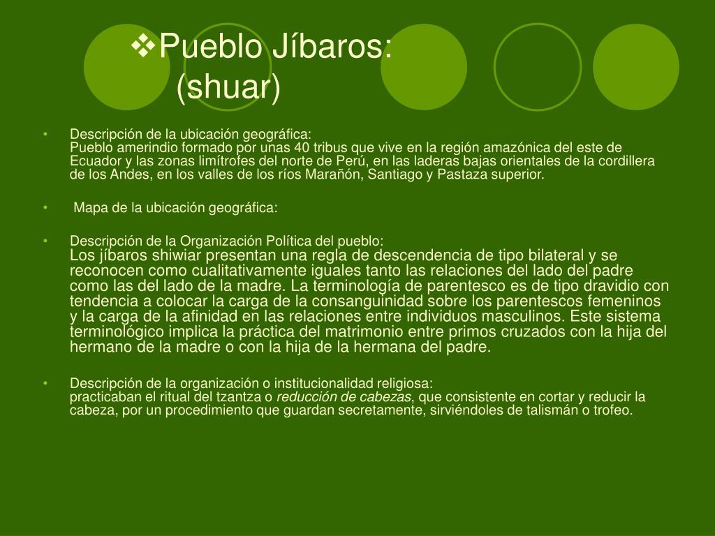 Pueblo Jíbaros:
