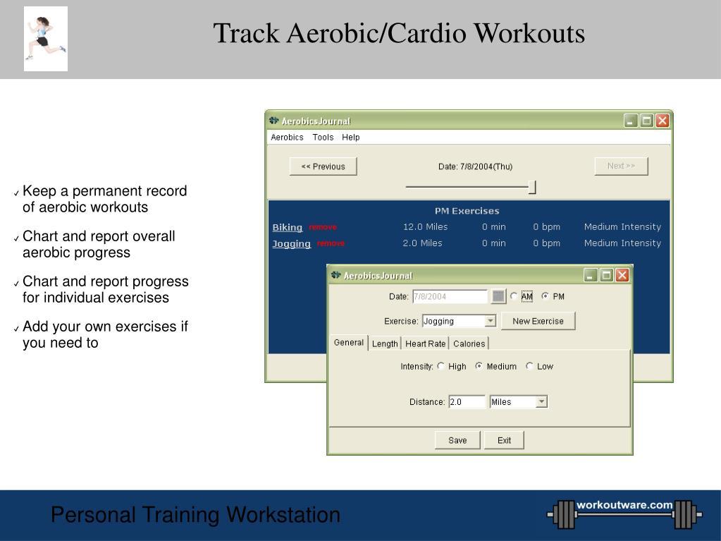 Track Aerobic/Cardio Workouts