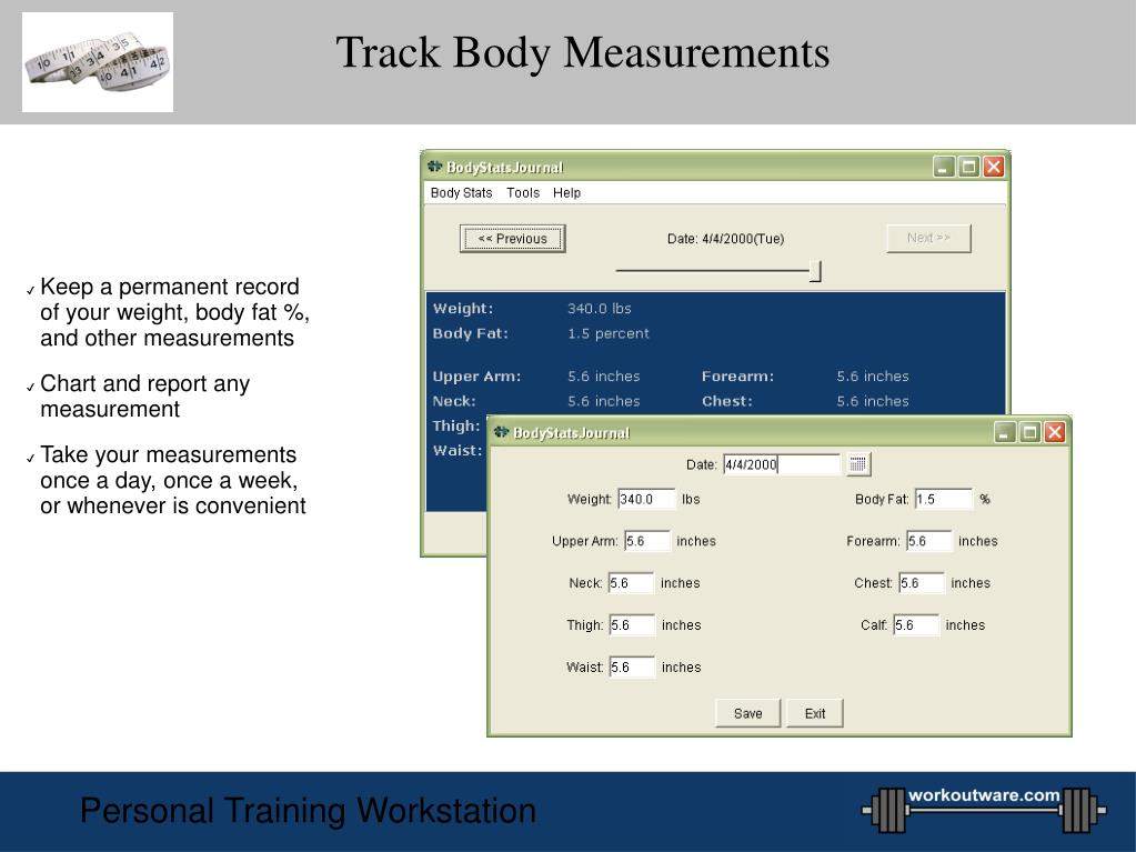 Track Body Measurements