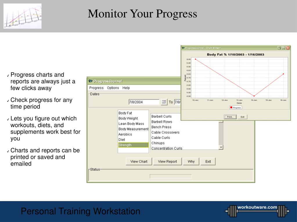 Monitor Your Progress