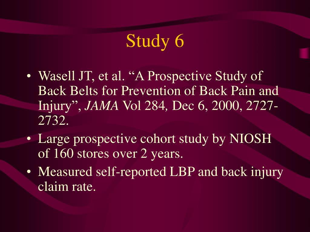 Study 6