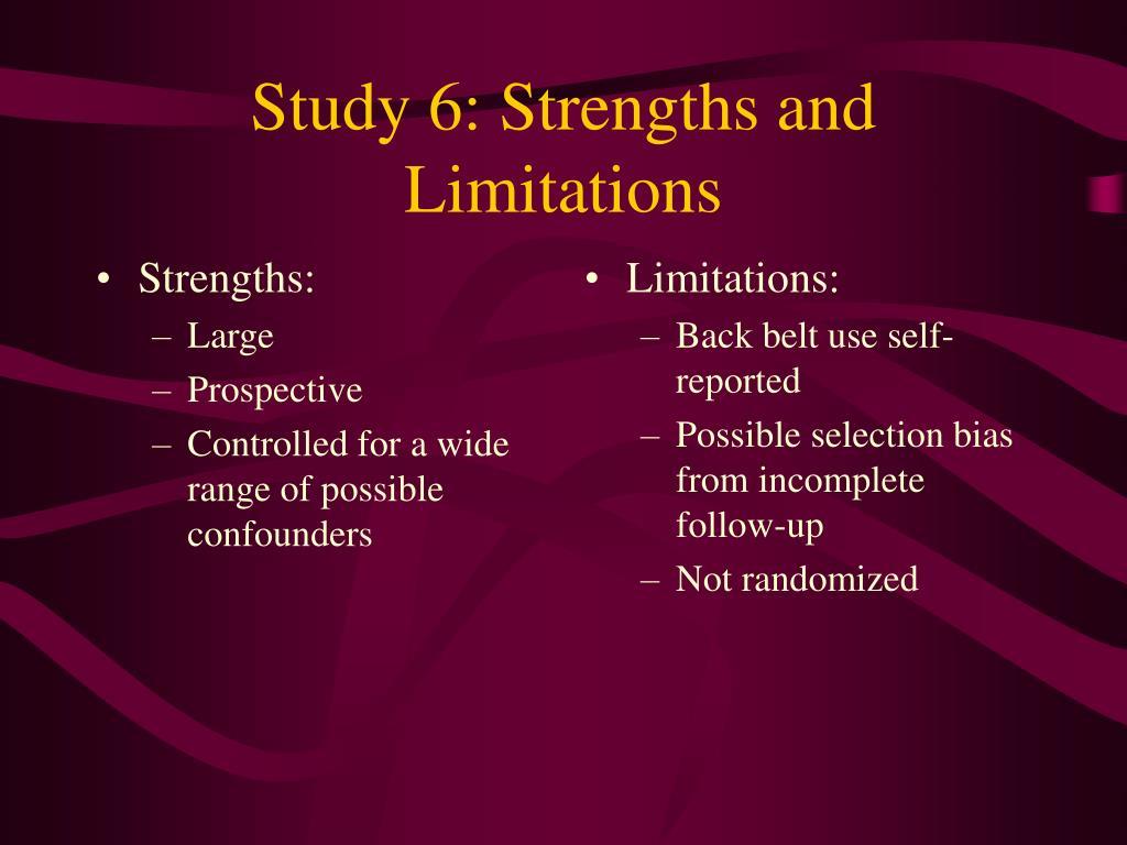 Strengths:
