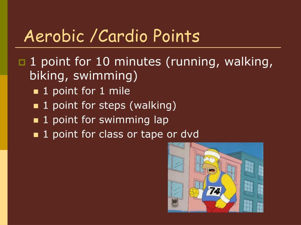 Aerobic /Cardio Points