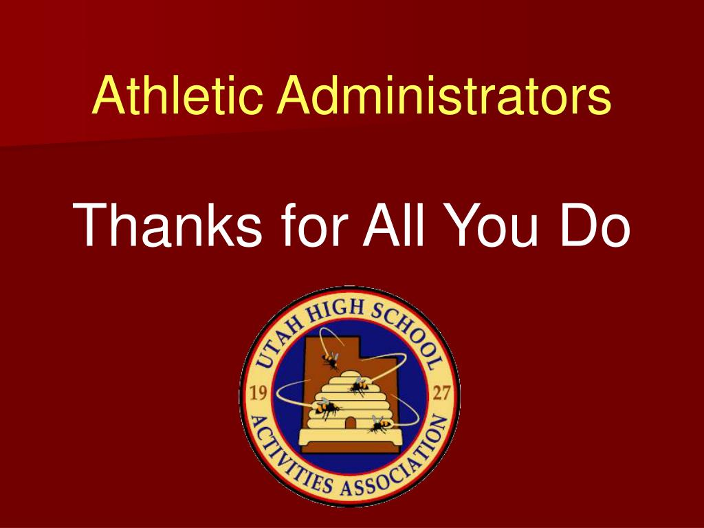 Athletic Administrators