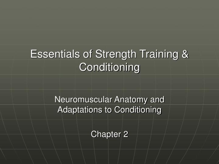 Essentials of strength training conditioning l.jpg