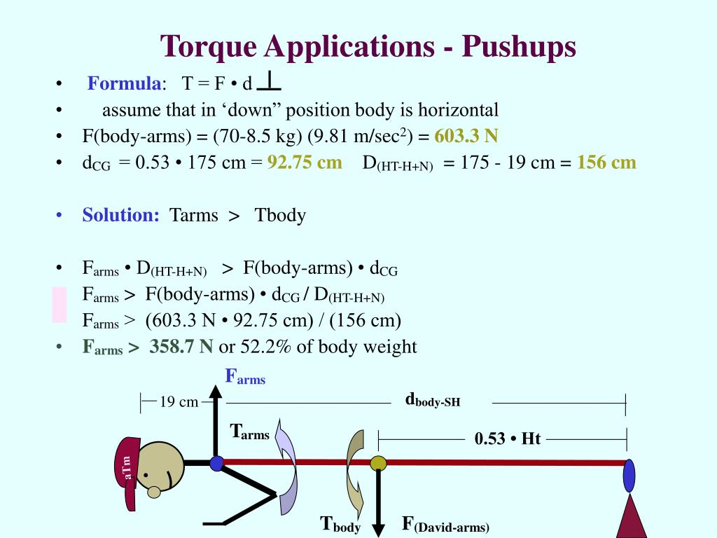 Torque Applications - Pushups