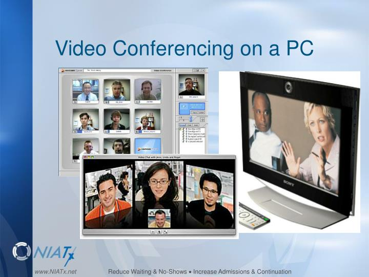 Video Conferencing on a PC