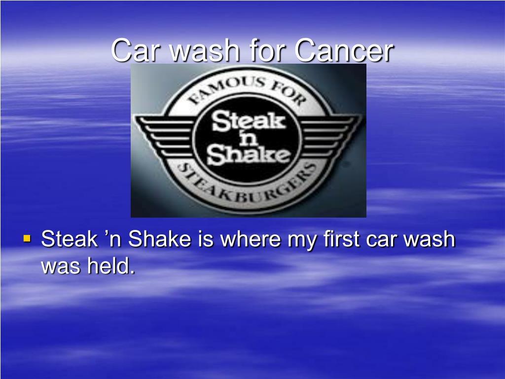 Car wash for Cancer