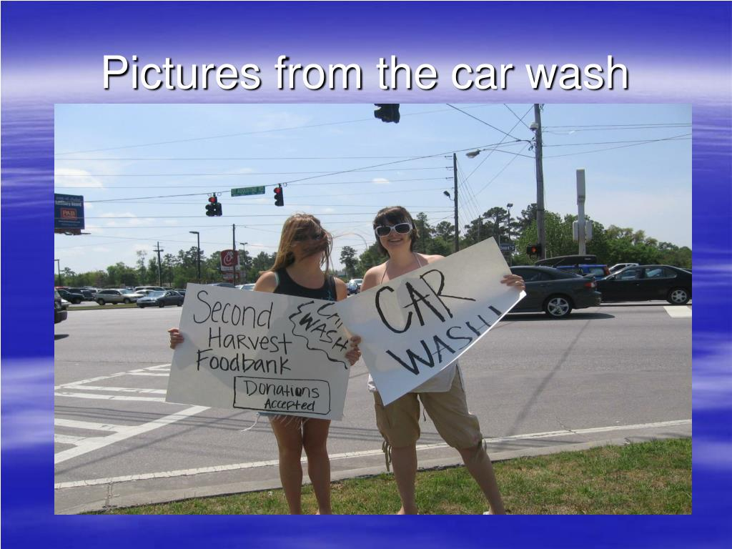 Pictures from the car wash