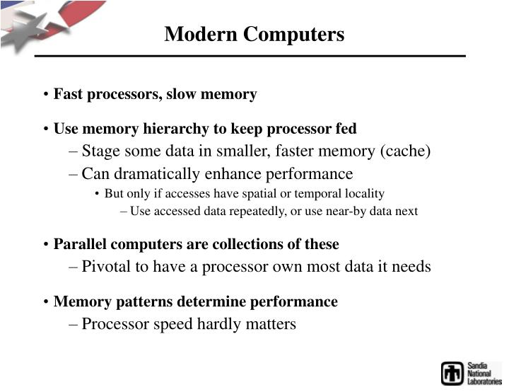 Modern Computers