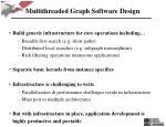 multithreaded graph software design
