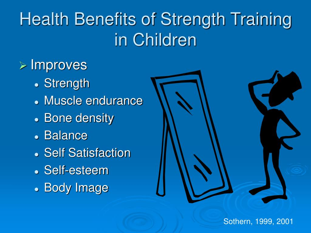 Health Benefits of Strength Training in Children